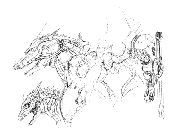 File:Concept Art - Godzilla Against MechaGodzilla - Kiryu 48.png