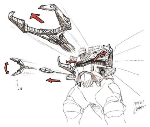 File:Concept Art - Godzilla vs. King Ghidorah - Machine Hand.png