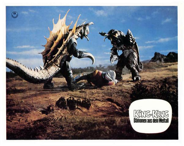 File:Godzilla vs. Megalon Lobby Card Germany 6.png