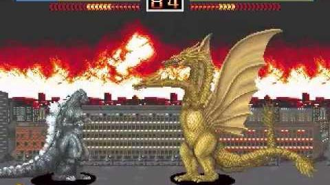 Godzilla The Arcade Game (Playthrough Pt
