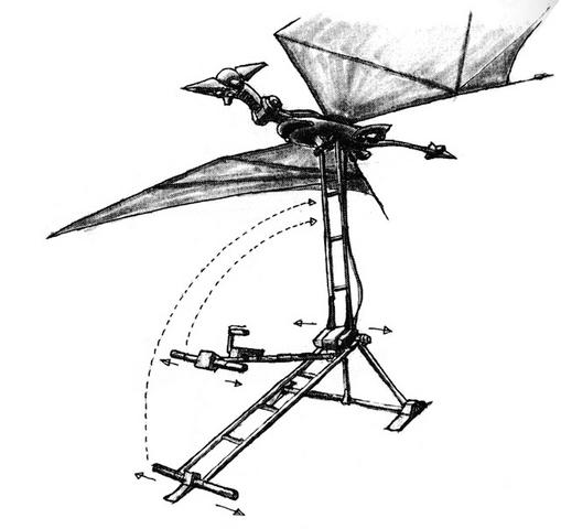File:Concept Art - Godzilla vs. MechaGodzilla 2 - Pteranodon Robot 11.png