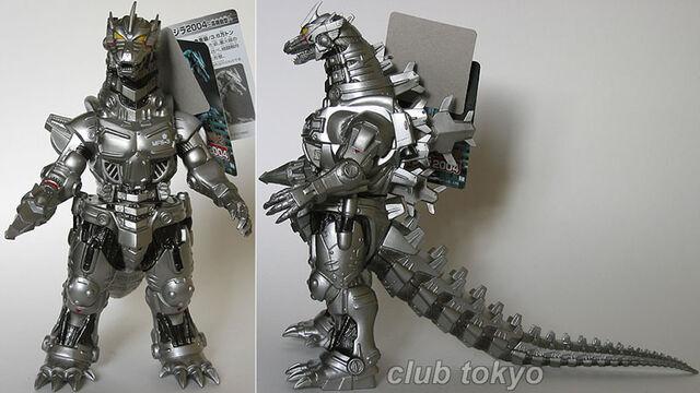 File:Bandai Japan 2003 Movie Monster Series - Drill Hand MechaGodzilla 2003.jpg
