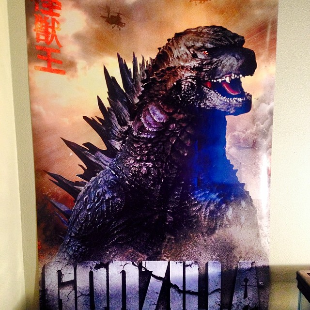 Godzilla possible poster