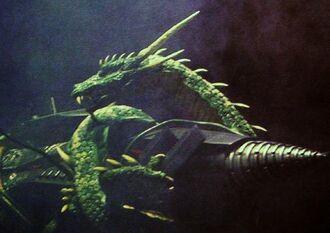 Manda in Godzilla: Final Wars (click to enlarge)