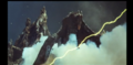 Rodan is sent up by Beam