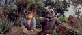 All Monsters Attack - Minilla gets excited over the stock footage