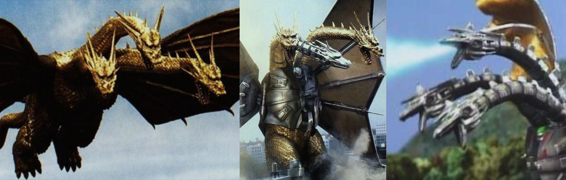 Godzilla Vs Mecha King Ghidorah Image - King Ghidorah-...