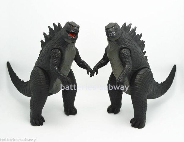 File:BOOTLEGS of Bandai Creation Godzilla 2014 Figures.jpg