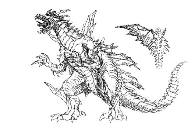 File:Concept Art - Godzilla 2000 Millennium - Orga 79.png