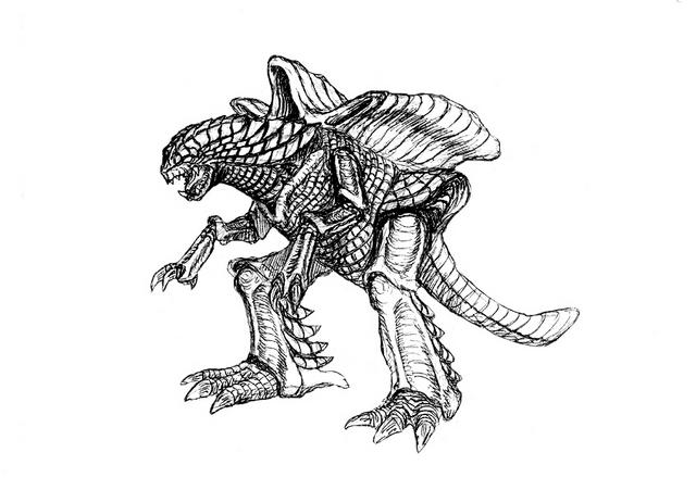 File:Concept Art - Godzilla 2000 Millennium - Orga 86.png