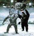 Behind King Kong Escapes with Mechani-Kong