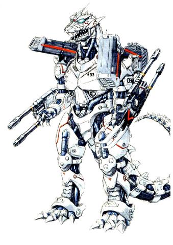File:Concept Art - Godzilla Against MechaGodzilla - Kiryu 55.png