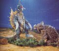 Gigan and Anguirus talk