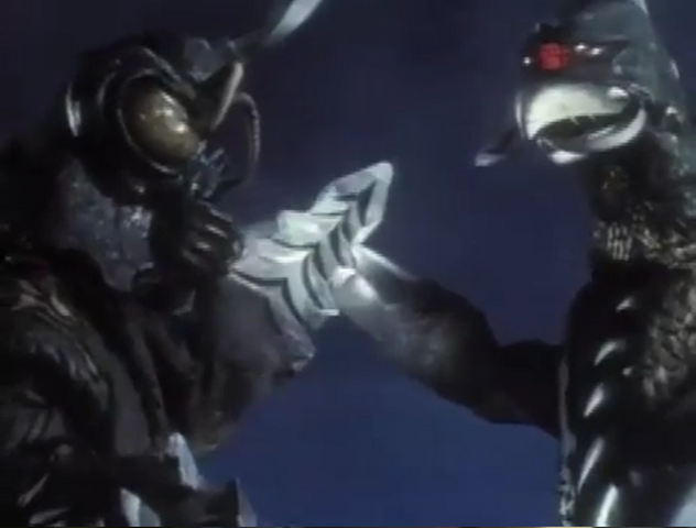 File:Godzilla vs. Megalon 8 - Gigan and Megalon Team Up.png