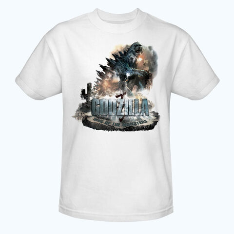 File:Godzilla 2014 Merchandise - Clothes - Godzilla King of the Monsters White Shirt.jpg