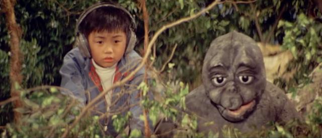 File:All Monsters Attack - Minilla and Ichiro see Ebirah fighting Godzilla.png