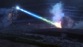 MechaG attacks Godzilla