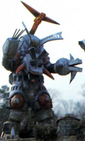Jikiro, as he appears in Zone Fighter