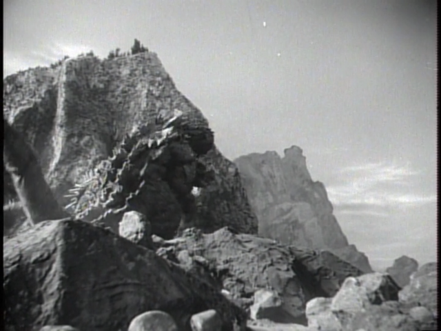 File:Godzilla Raids Again - 9 - Don't jump you have so much to live for!.png