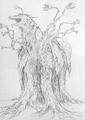 Concept Art - Godzilla vs. Biollante - Biollante 17