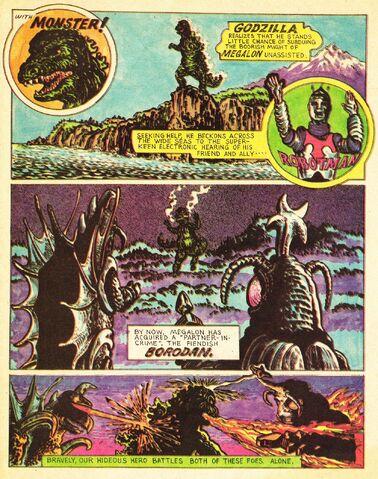 File:ROBOTMAN, Godzilla, Megalon and BORODAN.jpg