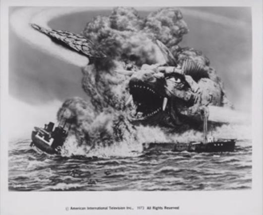 File:Gamera - 5 - vs Jiger - 99999 - 16 - An esplosion at sea.png