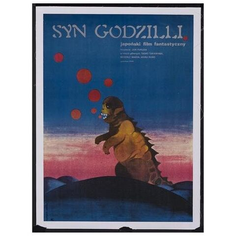 File:Godzilla Movie Posters - Son of Godzilla -Polish-.jpg