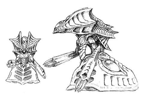 File:Concept Art - Godzilla 2000 Millennium - Orga 9.png