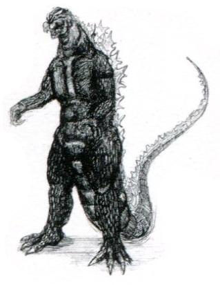 File:Concept Art - Godzilla vs. Destoroyah - Godzilla Rebirth 1.png