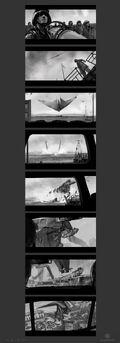 Concept Art - Godzilla 2014 - Winged MUTO Dive