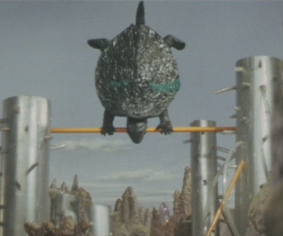 File:Gamera - 5 - vs Guiron - 37 - Gamera The Gymnastic Turtle.png