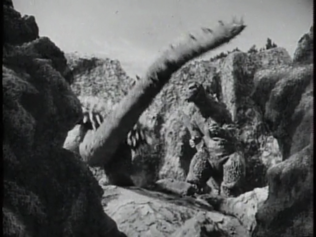 File:Godzilla Raids Again - 6 - Angilas lunges towards Godzilla.png