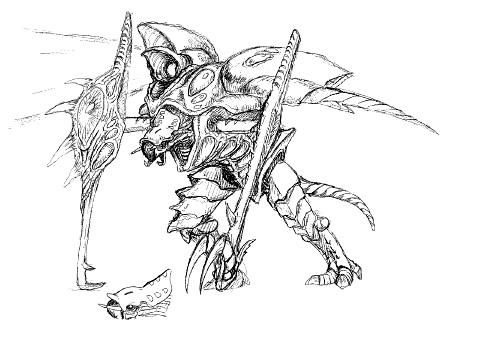 File:Concept Art - Godzilla 2000 Millennium - Orga 18.png