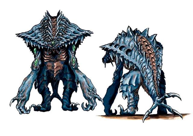 File:Concept Art - Godzilla 2000 Millennium - Orga 14.png