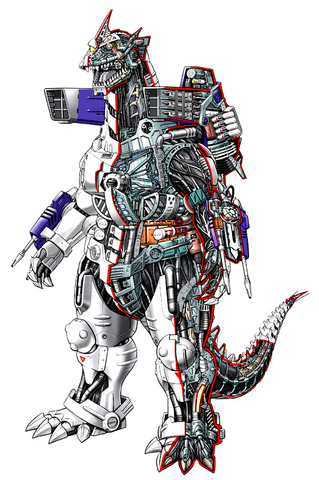 File:Concept Art - Godzilla Against MechaGodzilla - Kiryu 17.png