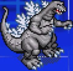 File:Gojira Kaiju Dairantou Advance - Character Sprites - Godzilla.png
