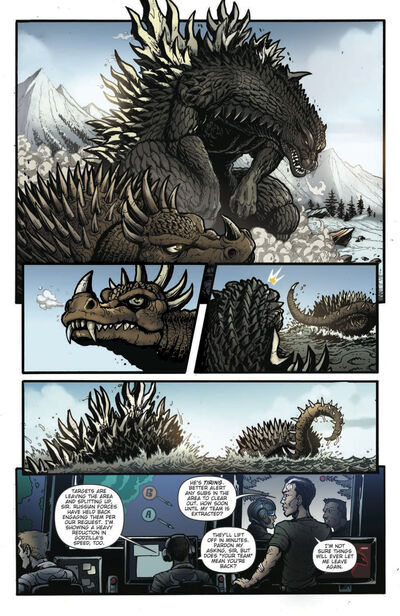 Godzilla Rulers Of Earth Issue 17 pg 5
