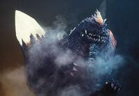 Injured SpaceGodzilla