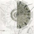 Concept Art - Godzilla Final Wars - Xilien Mothership Main Hall 2
