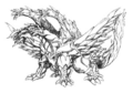 Concept Art - Rebirth of Mothra - Desghidorah 10