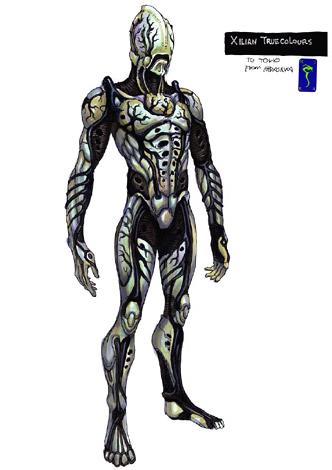 File:Concept Art - Godzilla Final Wars - True Xilien 1.png