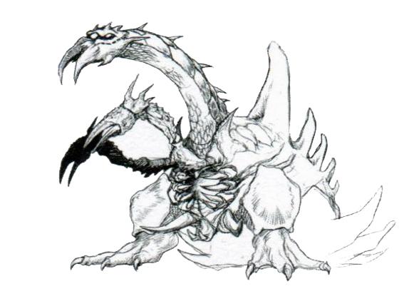 File:Concept Art - Godzilla vs. Destoroyah - Destoroyah 13.png