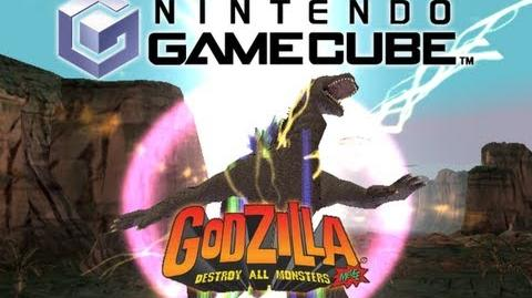 GCN All Rage Attacks (Godzilla Destroy All Monsters Melee)