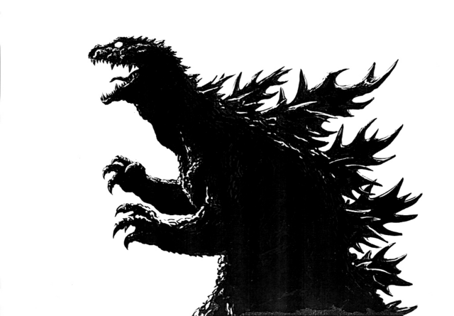 File:Concept Art - Godzilla 2000 Millennium - Yuji Sakai's Godzilla 2.png