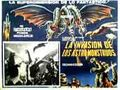 Invasion of Astro-Monster Poster Mexico 2