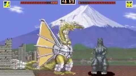 Godzilla The Arcade Game (VS Mode Pt