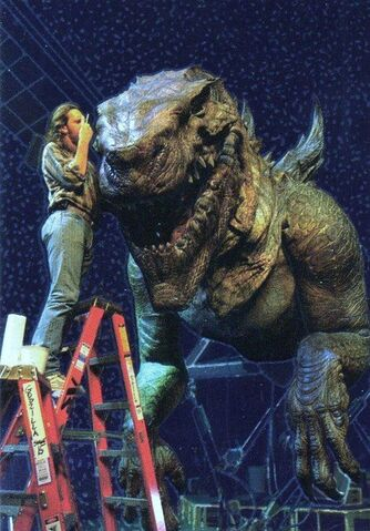 File:Zilla Animatronic from GODZILLA 1998 film.jpg