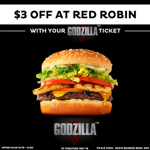 File:3 Dollars Off With Godzilla Ticket Red Robin.png