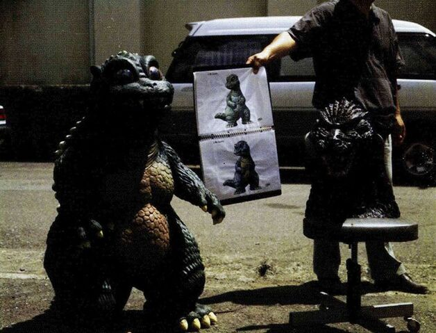 File:Little Godzilla Suit and Concept Art.jpg