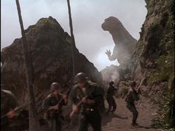Godzillasaurus vs. US Marines